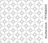 seamless ornamental vector... | Shutterstock .eps vector #797406043