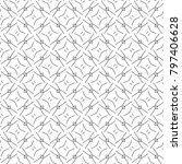 seamless ornamental vector...   Shutterstock .eps vector #797406628