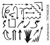 illustration of grunge sketch...   Shutterstock .eps vector #797408158