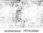 grunge black and white pattern. ...   Shutterstock . vector #797413060