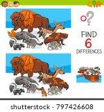 cartoon illustration of finding ... | Shutterstock .eps vector #797426608