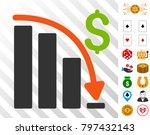 default crisis fail pictograph...   Shutterstock .eps vector #797432143