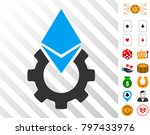 ethereum tools gear pictograph...