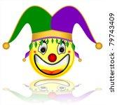court jester smile character | Shutterstock . vector #79743409