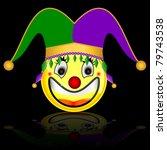 court jester smile character   Shutterstock . vector #79743538