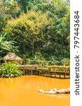 landscape of mae fah luang... | Shutterstock . vector #797443684