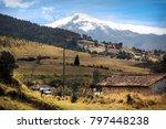 landscape of ecuador... | Shutterstock . vector #797448238