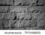 the image of the wall  for use... | Shutterstock . vector #797448850