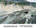 spectacular panorama of mer de... | Shutterstock . vector #797465560
