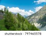 spectacular panorama of mer de... | Shutterstock . vector #797465578