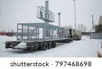 installation advertising lcd...   Shutterstock . vector #797468698