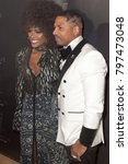 "Small photo of Amara La Negra and Stevie J arrives at the Launch Party for Stevie J aka ""Sleazy J"" in Atlanta Georgia USA at the Revel in Atlanta on January 18th 2018"