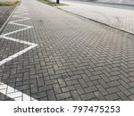 stone pavement in perspective....   Shutterstock . vector #797475253