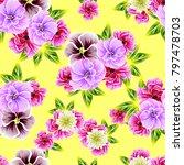 abstract elegance seamless...   Shutterstock . vector #797478703