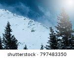 winter landscape  stock image | Shutterstock . vector #797483350