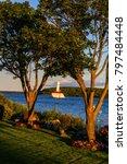 mackinac island lighthouse | Shutterstock . vector #797484448
