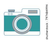 camera photographic isolated...   Shutterstock .eps vector #797484994