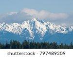 The Olympic Mountains Taken...