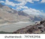 river between rock | Shutterstock . vector #797492956