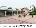 Small photo of Hakone, Shizuoka, Japan - December 8, 2017: This is Fragrance Outlet at Gottemba Premium Outlets. Gotemba Premium Outlets is the flagship center, and one of the largest centers in Japan.