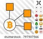 bitcoin nodes icon with bonus...