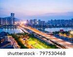 zhuhai city scenery | Shutterstock . vector #797530468
