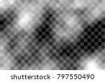 smoke transparent background.... | Shutterstock .eps vector #797550490