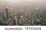 bangkok drone photo | Shutterstock . vector #797553406