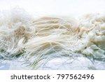 rice vermicelli  rice stick... | Shutterstock . vector #797562496