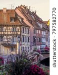 Colmar  France  Europe Typical...