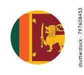 sri lanka national flag  raster ...   Shutterstock .eps vector #797608453