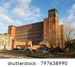 Small photo of Red brick mill in Belper, Derbyshire
