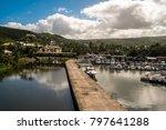 st. gilles les bain  reunion    ... | Shutterstock . vector #797641288