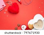 valentines day  love background.... | Shutterstock . vector #797671930