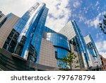brussels  belgium   may 20 ... | Shutterstock . vector #797678794