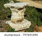 caesarea  israel   capital of a ... | Shutterstock . vector #797691490