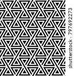 vector seamless texture. modern ... | Shutterstock .eps vector #797692273
