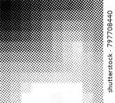 ink print distress background . ... | Shutterstock .eps vector #797708440