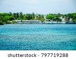 isla del rosario  cartagena ... | Shutterstock . vector #797719288