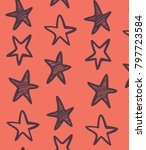 hand drawn pattern and... | Shutterstock .eps vector #797723584