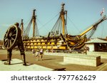 portsmouth  england   21 july... | Shutterstock . vector #797762629