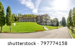 cantacuzino castle in a... | Shutterstock . vector #797774158
