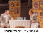 theater play theme creative... | Shutterstock . vector #797786158