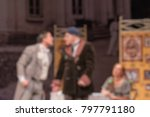 theater play theme creative... | Shutterstock . vector #797791180