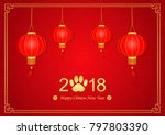 illustration of chinese new... | Shutterstock . vector #797803390