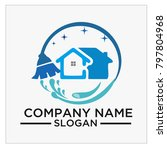 logo  icon and vector for... | Shutterstock .eps vector #797804968