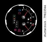 car dashboard   Shutterstock .eps vector #79823566