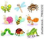 insect cartoon set | Shutterstock .eps vector #79832152