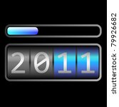 counter end year 2011 | Shutterstock . vector #79926682