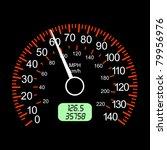 car speedometers for racing... | Shutterstock . vector #79956976